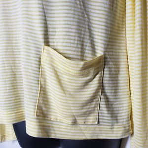 Lacoste Tops - Lacoste Striped Long Sleeve Blouse Size Medium